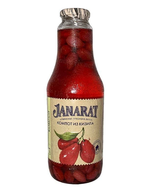"""Компот из кизила  """" Janarat """""""
