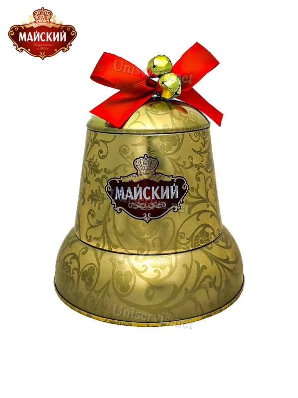 Новогодний колокольчик , внутри которого вкуснейший чёрный чай