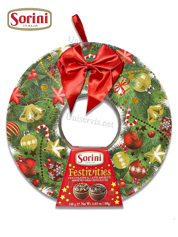 Итальянские конфеты из шоколада с начинкой Сорини/Sorini