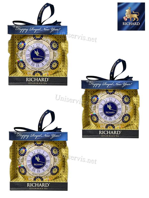 """Новогодняя ёлочная игрушка в виде медальона"""" Чай Ричард"""""""