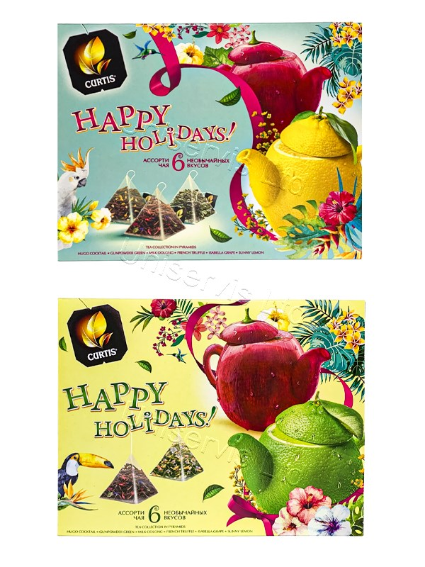 "Чай ""Curtis"" - Happy Holidays"