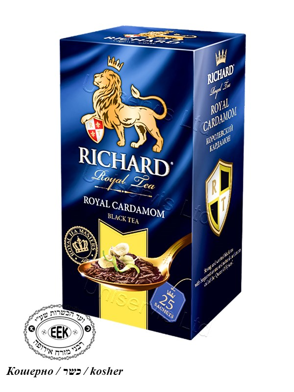 """Чай Ричард / Tea """"Richard"""" - Royal Cardamom"""