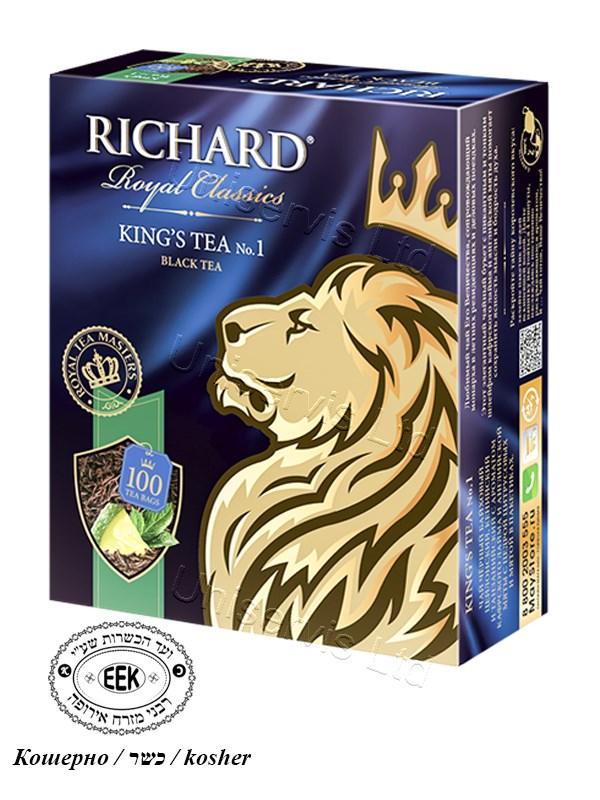 "Чай Ричард / Tea ""Richard"" - Kings's Tea №1"
